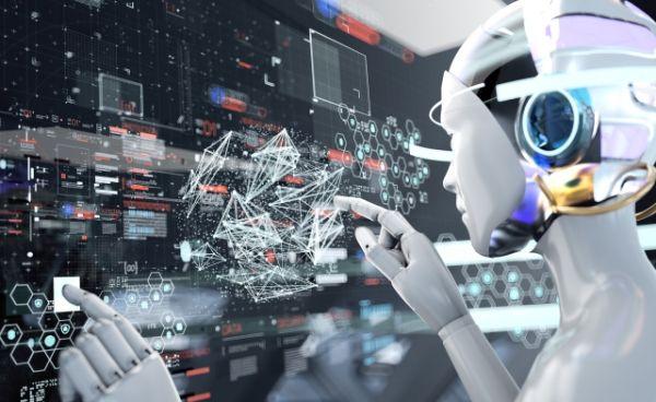 RPAのAI・ロボットのイメージ