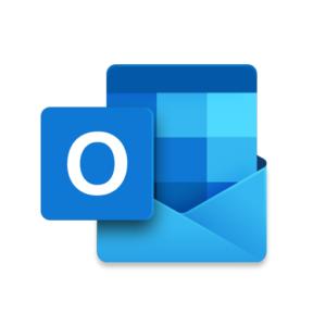 マイクロソフトのOutlookのアイコン