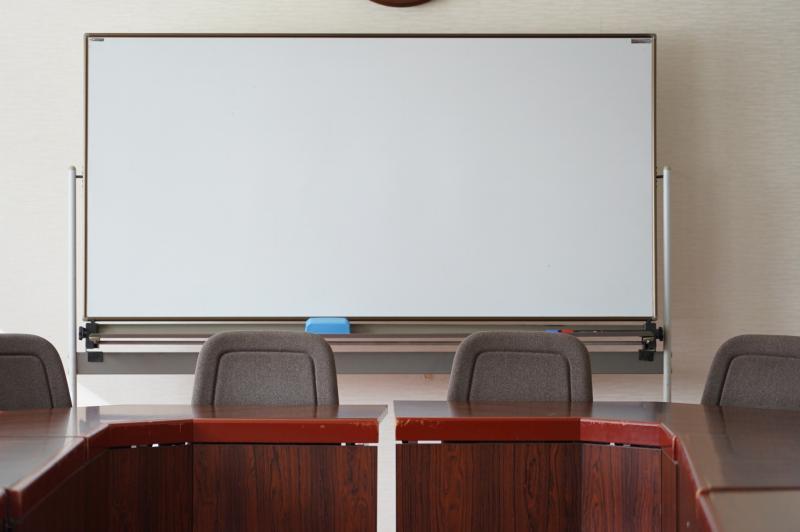 会議室に設置されているホワイトボード