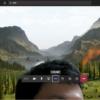 Teamsのビデオ会議で仮想背景の設定方法、仮想背景でTeamsビデオ会議している様子