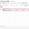 GoolgeスプレッドシートでSPLIT関数を使い、セルの文字列を特定の区切り文字で分割のサンプル