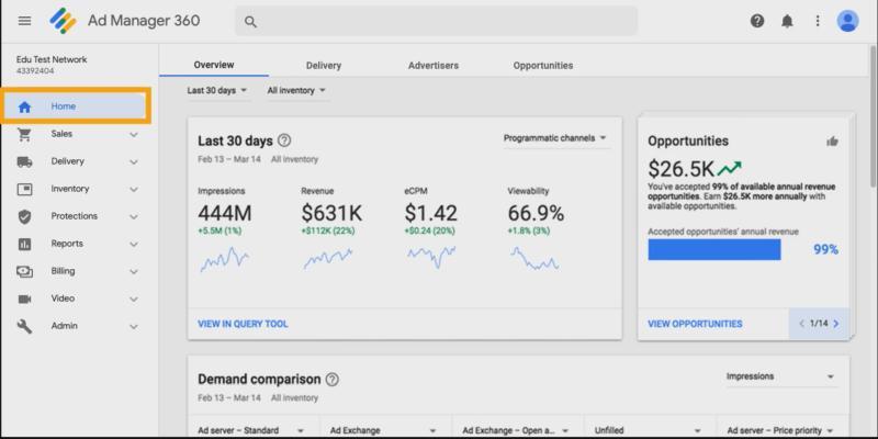 有料版のGoogle Ad Manager 360には無料版にはない機能も